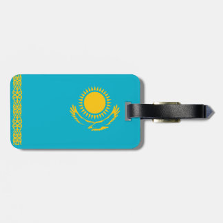 Kazakhstan Luggage Tag