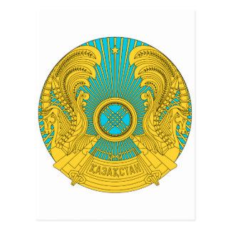 Kazakhstan National Emblem Postcard