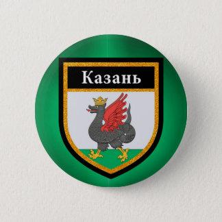 Kazan Flag 6 Cm Round Badge