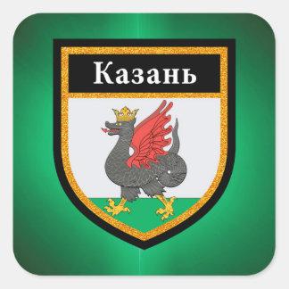 Kazan Flag Square Sticker