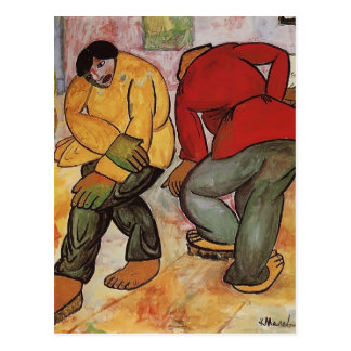 Kazimir Malevich- Floor Polishers Postcard