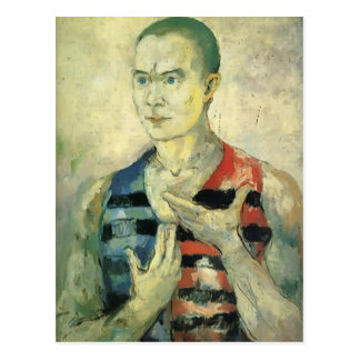 Kazimir Malevich- Portrait of a Youth Postcard