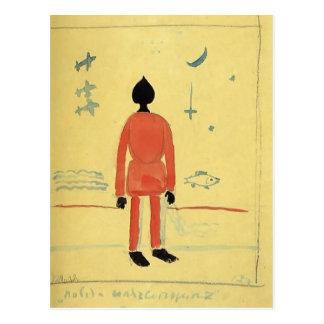 Kazimir Malevich- Turkish Soldier Postcard
