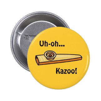 Kazoo Pinback Buttons