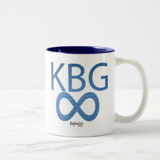 KBG ∞ Keighleyboy Group Two-Tone Coffee Mug