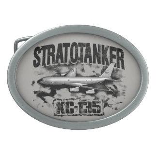 KC-135 Stratotanker Pewter Belt Buckle