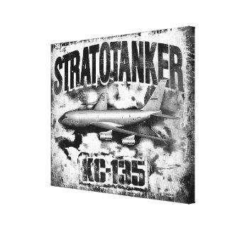 KC-135 Stratotanker Stretched Canvas Print