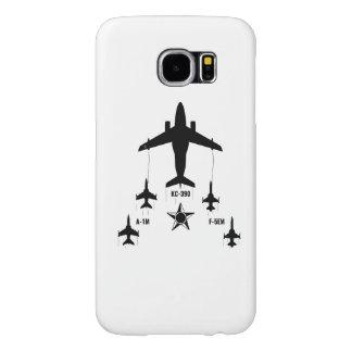 KC-390 - A-1M - F-5EM Brazilian Air Force Samsung Galaxy S6 Cases