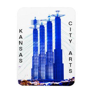 KC Arts Rectangular Photo Magnet