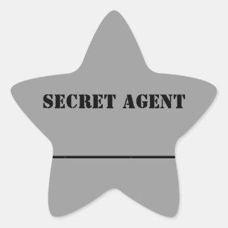 KC s Secret Agent Name Sticker