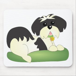 KC the Happy Pup Mouse Pad