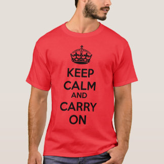 KCCO Keep Calm and Carry On Shirt