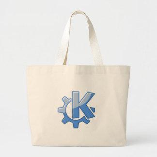 KDE Linux Jumbo Tote Bag