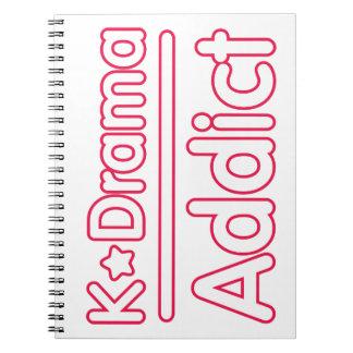 KDrama Addict Notebook
