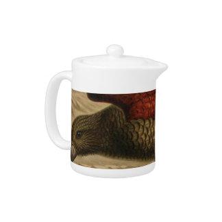 Kea Semi-Abstract Teapot