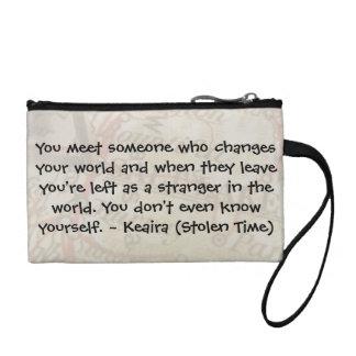 Keaira Quote Make-up Bag Coin Wallet