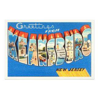 Keansburg New Jersey NJ Vintage Travel Postcard- Photo