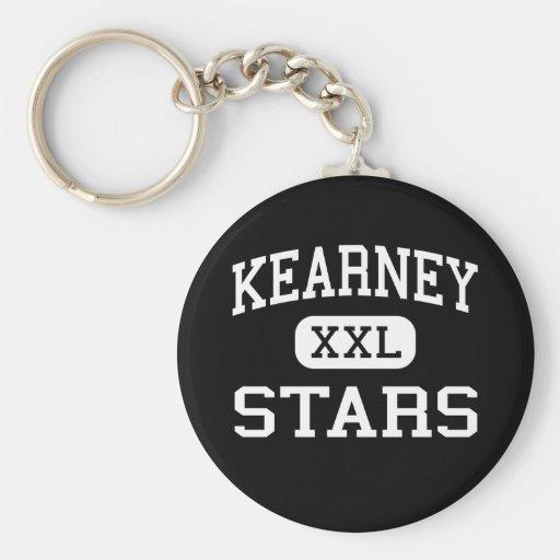 Kearney - Stars - Catholic - Kearney Nebraska Key Chains