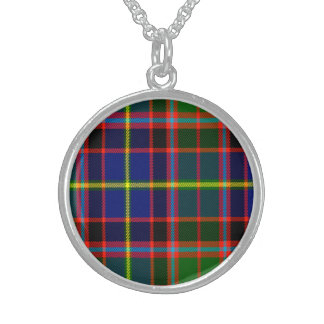 Kearny Scottish Tartan Sterling Silver Necklace