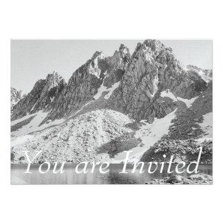 Kearsage Pinnacles Kings River by Ansel Adams Personalized Invitations