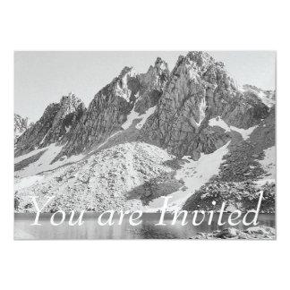 Kearsage Pinnacles Kings River by Ansel Adams 4.5x6.25 Paper Invitation Card