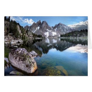 Kearsarge Lake / Kearsarge Pinnacles - Sierra Neva Card
