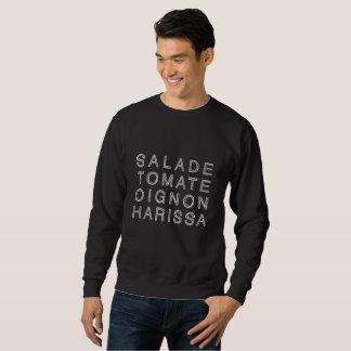 KEBAB HARISSA in white (men's sweatshirt) Sweatshirt