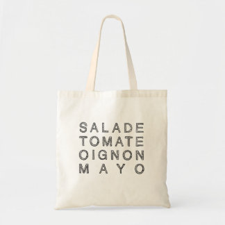 KEBAB MAYO in black (tote) Tote Bag