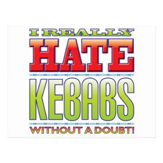 Kebabs Hate Postcards
