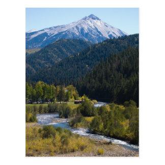 Kebler Pass, Colorado Postcard