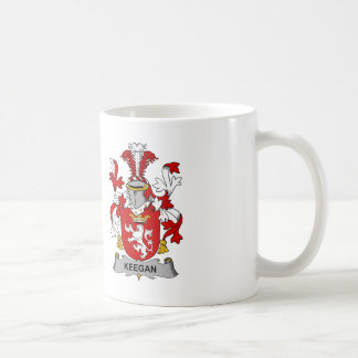 Keegan Family Crest Coffee Mug
