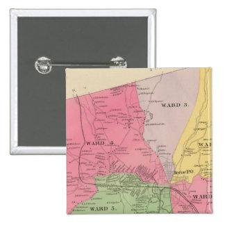 Keene, Cheshire Co 15 Cm Square Badge