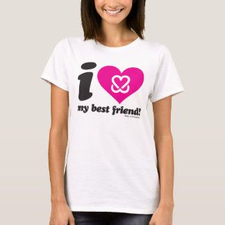 "Keep A Breast ""I Love My Best Friend"" T-Shirt"