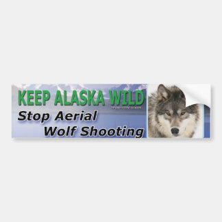 Keep Alaska Wild Bumper Sticker