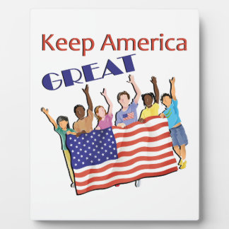 Keep America Great Adult Parade Plaque