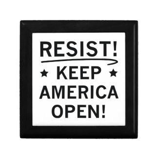 Keep America Open Gift Box