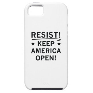 Keep America Open iPhone 5 Cases