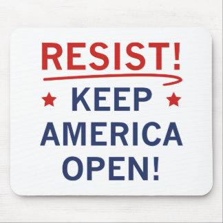 Keep America Open Mouse Pad