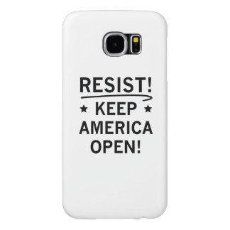 Keep America Open Samsung Galaxy S6 Cases