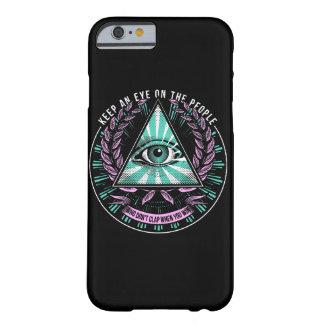 """""""Keep an eye ..."""" Dark iPhone Case"""