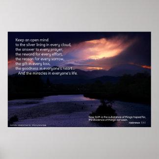 Keep An Open Mind...Inspirational poster