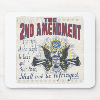 Keep and Bear Arms Gun-Toting Eagle Gear Mouse Pad