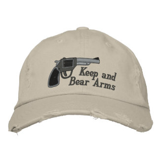 Keep and Bear Arms Second Amendment Embroidered Hat