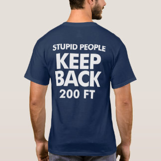 Keep Back dark T-shirt