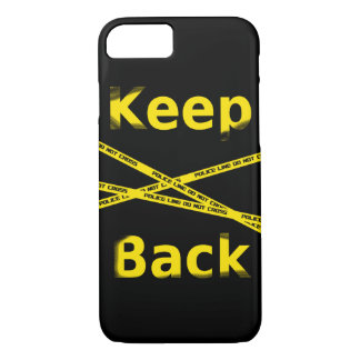Keep bake Crime Scene iPhone 8/7 Case
