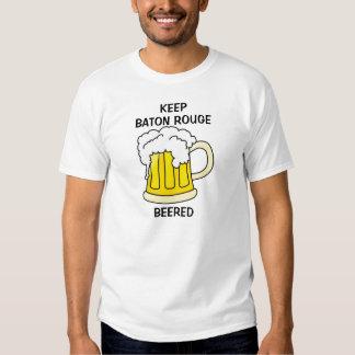 KEEP BATON ROUGE BEERED TEE SHIRT