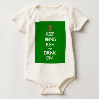 Keep Being Irish Baby Bodysuit