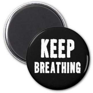 Keep Breathing for Yoga & Meditation Magnet