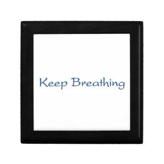 Keep Breathing Gift Box