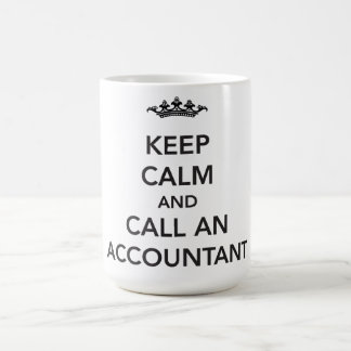 Keep Calm Accountant Mug